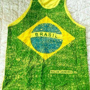 Rio de Janeiro Brazil Amazon Yoga Samba Tank L